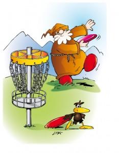 Sterzing Mountain Discgolf Logo