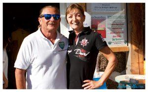 Charly & Gaby Buchberger - die Gastgeber am KUMM Disc Golf Parcours
